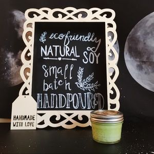 4 oz cucumber melon natural soy candle